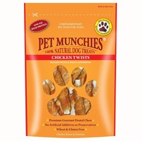 Pet Munchies Chicken Twists for Dogs big image