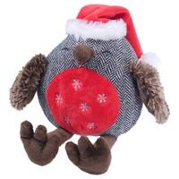 Rosewood Cupid & Comet Squeaky Noel Owl Dog Toy big image