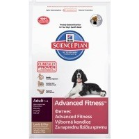 Hills Science Plan Advanced Fitness Medium Adult Dog Food (Lamb) big image