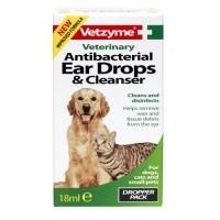 Vetzyme Antibacterial Ear Drops & Cleanser big image