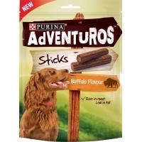 Purina Adventuros Sticks with Buffalo Flavour 120g big image