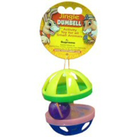 Jingle Dumbell For Small Animals big image
