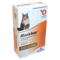 Moxiclear Spot-On Solution for Large Cats (4 Pipettes) big image