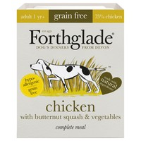 Forthglade Grain Free Complete Adult Wet Dog Food (Chicken) big image