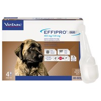 Effipro Duo Spot-On Solution for Very Large Dogs (4 Pipettes) big image