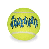 Air Kong Squeaker Tennis Ball big image