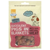 Good Boy Pawsley Succulent Pigs in Blankets Dog Treats 80g big image