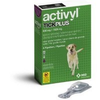 Activyl TickPlus Spot-On for Large Dogs (4 x 600mg Pipettes) big image