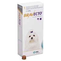 Bravecto 112.5mg Chewable Tablets for Toy Dogs big image