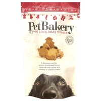 Pet Bakery Festive Christmas Dinner Dog Treats 190g big image