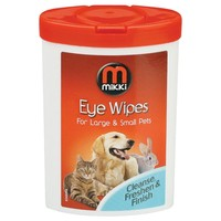 Mikki Eye Wipes for Large and Small Pets big image