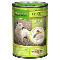 Natures Menu Adult Dog Food 12 x 400g Cans (Chicken) big image