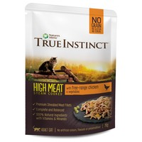 True Instinct High Meat Fillets Cat Food (Free Range Chicken) big image