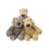 Good Boy Fluffy Bear Dog Toy big image