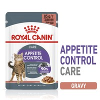 Royal Canin Appetite Control Care Adult Cat Food Pouches in Gravy big image