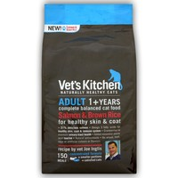 Vet's Kitchen Adult Cat Food 3kg (Salmon & Brown Rice) big image