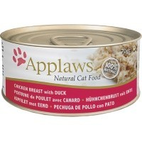 Applaws Adult Cat Food in Broth 24 x 70g Tins (Chicken Breast with Duck) big image