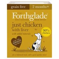 Forthglade Just Chicken with Liver Grain Free Dog Food big image