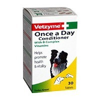 Vetzyme Once A Day 30 Tablets big image