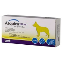 Atopica 100mg Capsules for Dogs big image