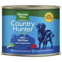 Natures Menu Country Hunter Dog Food Cans (Wild Boar) big image