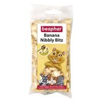 Beaphar Banana Nibbly Bitz Small Animal Treat 50g big image