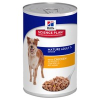 Hills Science Plan Mature 7+ Active Longevity Adult Dog Food Tins (Chicken) big image