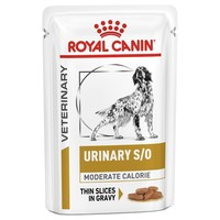 Royal Canin Urinary S/O Moderate Calorie Pouches for Dogs big image