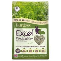 Burgess Excel Feeding Hay (Dried Fresh Grass) 1kg big image