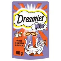 Dreamies Mix Flavoured Cat Treats with Chicken & Duck big image