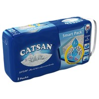 Catsan Smart Pack Cat Litter Tray Liners (Pack of 2) big image