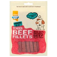 Good Boy Pawsley & Co Tender Beef Fillets 90g big image