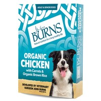 Burns Wet Dog Food Pouches (Organic Chicken) big image