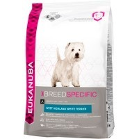 Eukanuba Breed West Highland Terrier Adult 2.5Kg big image
