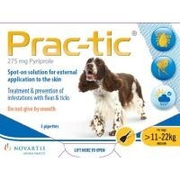 Prac-Tic Spot-On for Medium Dogs 3 Pack big image