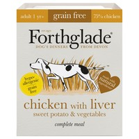 Forthglade Grain Free Complete Adult Wet Dog Food (Chicken with Liver) big image