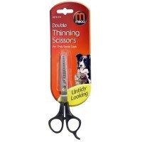 Mikki Double Thinning Scissors 17cm big image