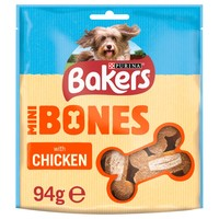 Bakers Mini Bones Dog Treats 94g (Chicken) big image