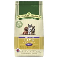 James Wellbeloved Senior Dog Small Breed Dry Food (Lamb & Rice) big image