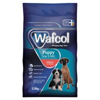 Wafcol Puppy Dry Food for Large and Giant Breeds (Salmon & Potato) 2.5kg big image