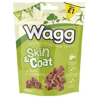 Wagg Skin & Coat Treats for Dogs 125g big image