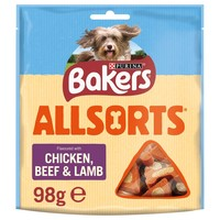 Bakers Allsorts Dog Treats 98g big image