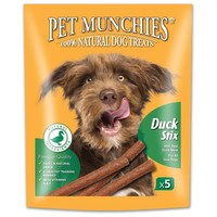 Pet Munchies Duck Stix for Dogs 50g big image