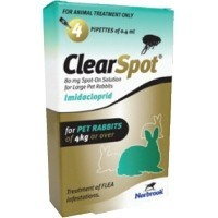 ClearSpot Spot-On Solution for Large Rabbits (Single Pipette) big image