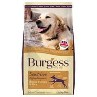 Burgess Sensitive Adult Dog Food (Turkey & Rice) big image