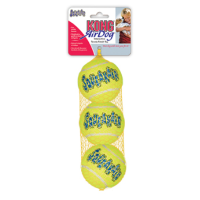 Air Kong Three Squeaker Tennis Balls big image