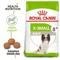 Royal Canin X-Small Adult 8+ Dry Dog Food 1.5kg big image