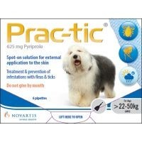 Prac-Tic Spot-On for Large Dogs 6 Pack big image