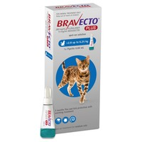 Bravecto Plus 250mg Spot-On Solution for Medium Cats big image