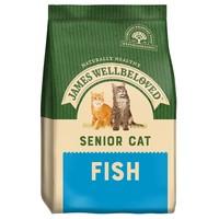 James Wellbeloved Senior Cat Dry Food (Fish) big image